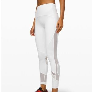 Lululemon leggings *28""